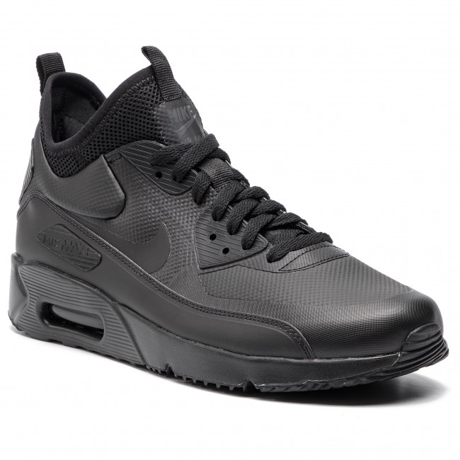 buy popular 18aa8 1f378 Buty NIKE - Air Max 90 Ultra Mid Winter 924458 004 Black/Black/Anthracite