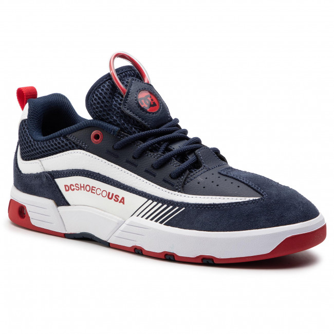 2703ad38ac06b Sneakersy DC - Legacy 98 Slim ADYS100445 Navy/Red (Nrd) - Sneakersy ...