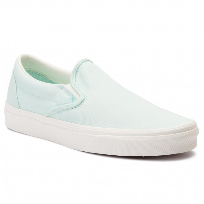 c521a8ccf819a Tenisówki VANS - Classic Slip-On VN0A38F7VLP1 (Brushed Twill) Soothing