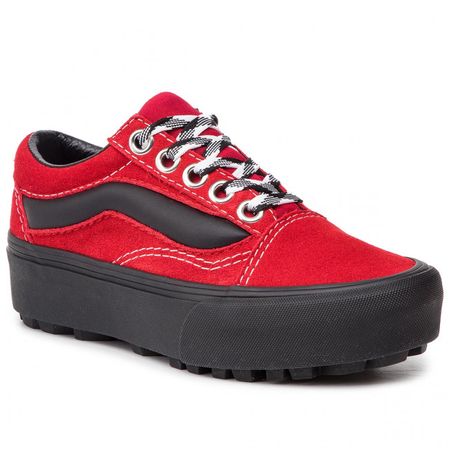 0e149683f4 Sneakersy VANS - Old Skool Lug Pla VN0A3WLXVRX1 (90s Retro) Chili Pepper