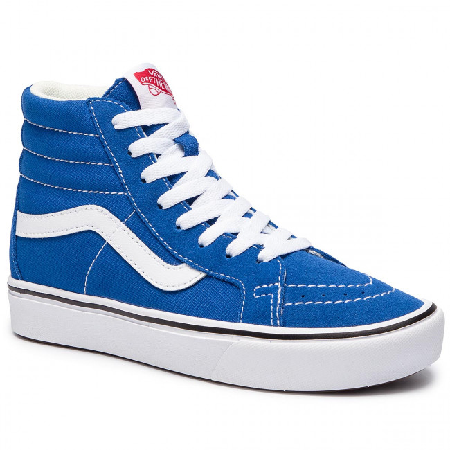 66e9d6519bf23 Sneakersy VANS - Comfycush Sk8-H VN0A3WMCVO11 (Suede Canvas) Lapis Blue
