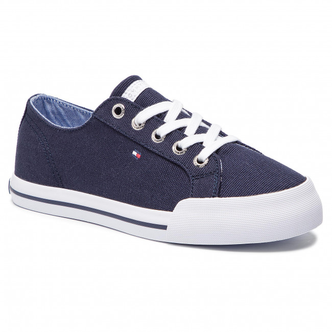 a2aa7c6e19969 Tenisówki TOMMY HILFIGER - Essential Sneaker FW0FW03853 Tommy Navy ...