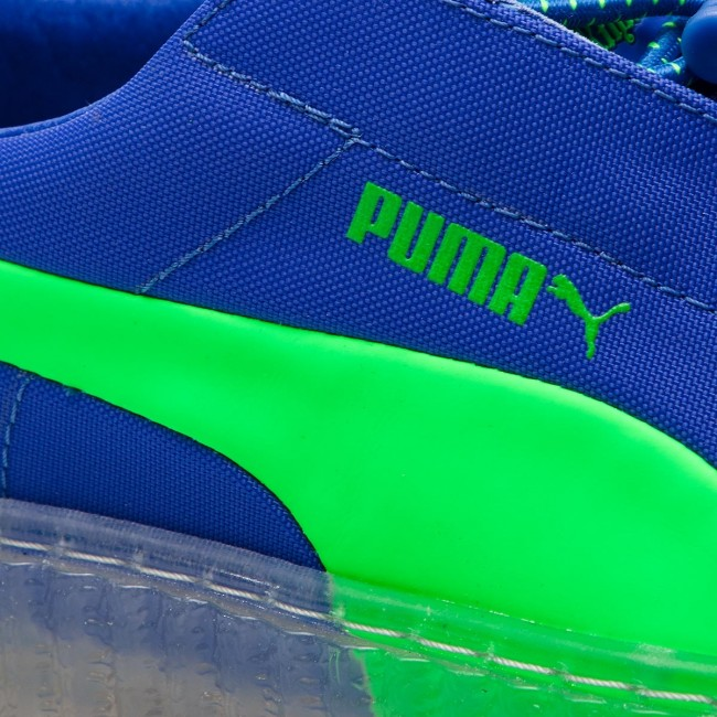 Sneakersy PUMA Cleated Creeper Surf Wns 367681 01 Dazzling BlueGreen Gecko