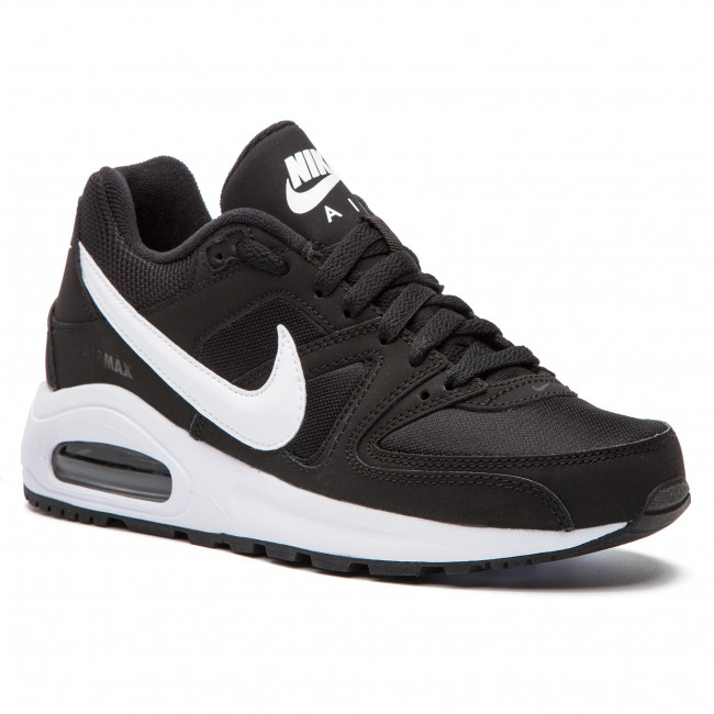promo code e52d2 e2c27 Buty NIKE - Air Max Command Flex (GS) 844346 011 Black White