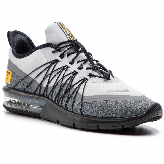 hot sales d4f85 5d59f Buty NIKE - Air Max Sequent 4 Utility AV3236 003 Wolf Grey/Reflect Silver