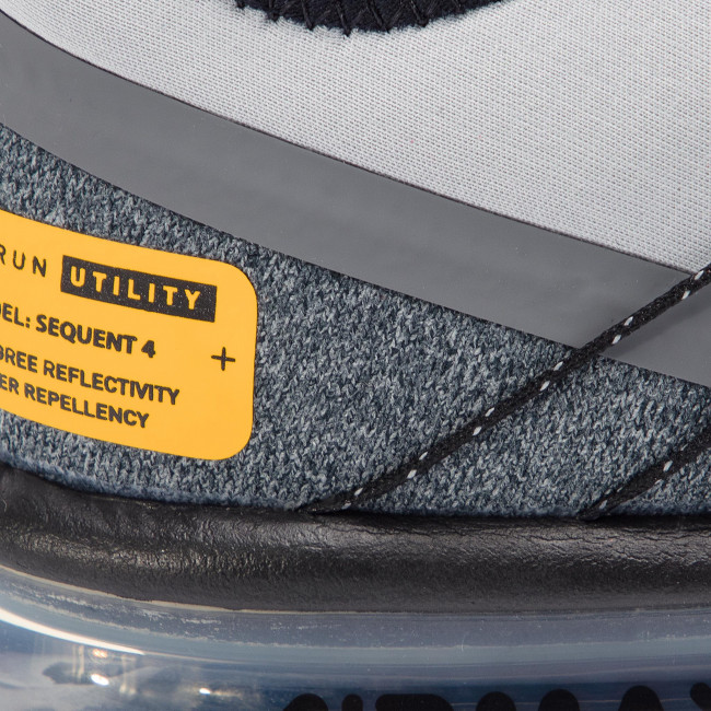 Buty NIKE Air Max Sequent 4 Utility AV3236 003 Wolf GreyReflect Silver