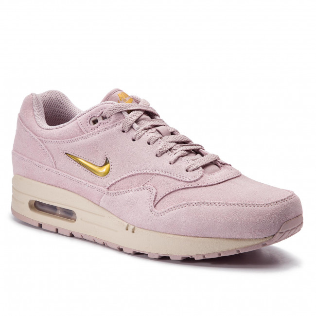 newest 7a66f 220b8 Buty NIKE - Air Max 1 Premium Sc 918354 601 Particle Rose/Metallic Gold
