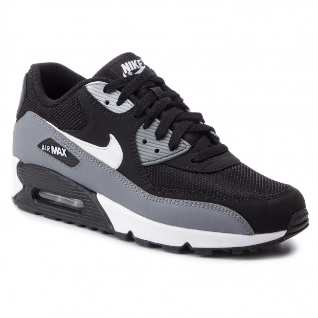 new product 00301 715be Buty NIKE - Air Max 90 Essential AJ1285 018 Black White Cool Grey