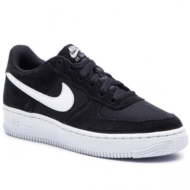 newest collection 326b3 50ead Buty NIKE - Air Force 1 Pe (Gs) BV0064 001 Black/White - Sneakersy ...