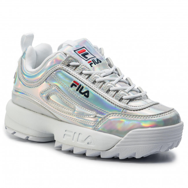 Sneakersy FILA Disruptor M Low Wmn 1010747.3VW Silver