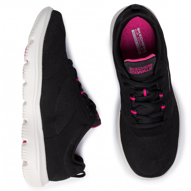 Buty SKECHERS Go Walk Evolution Ultra Enhance 15734BKPK BlackPink