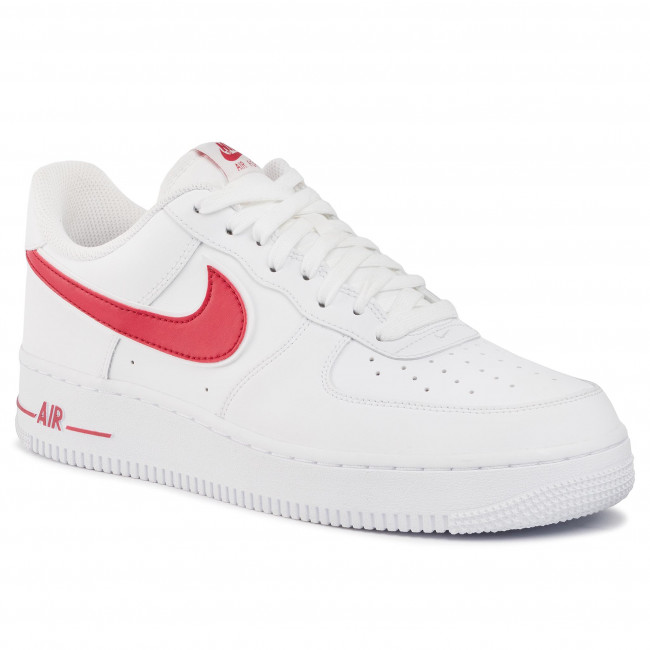 Buty NIKE Air Force 1'07 3 AO2423 102 WhiteGym Red