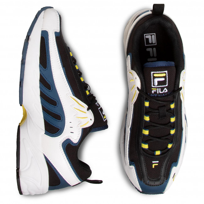 Sneakersy FILA Adrenaline Low 1010827.12S BlackWhite