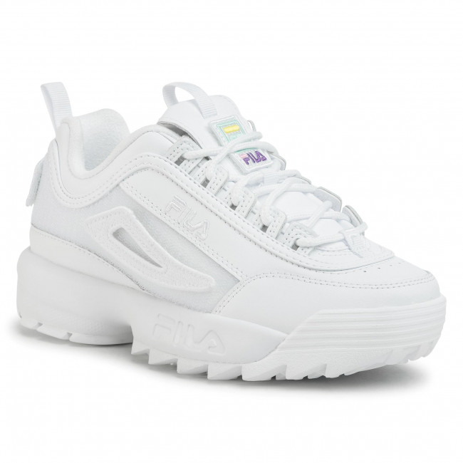 Sneakersy FILA Disruptor Patches Wmn 1010864.1FG White
