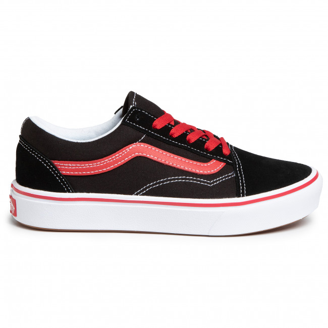 Tenisówki VANS Comfycush Old Sko VN0A4UHA4HJ1 (Pop) BlackRed