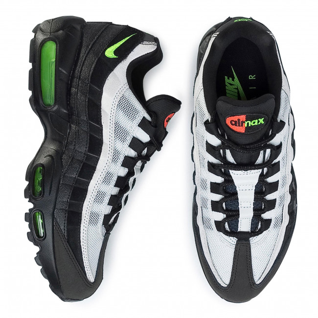 Buty Air Max 95 Essential AT9865 004 BlackElectric Green