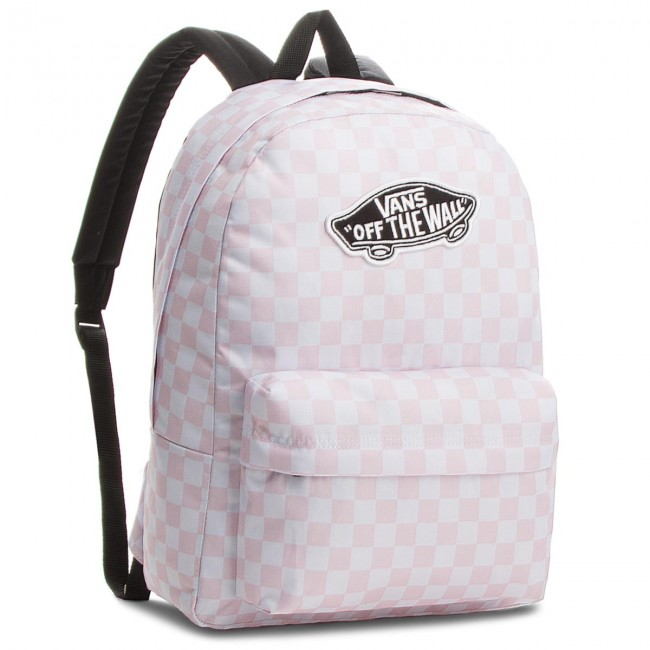 195a31530aa50 Plecak VANS - Realm Backpack VN000NZ0P2A Chalk Pink 413 - Torby i ...