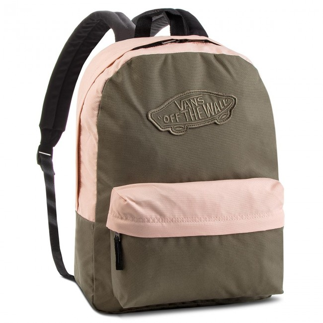 fcf0f6ca8e04c Plecak VANS - Realm Backpack VN0A3UI6UOT Dusty Olive/Rose Cloud ...