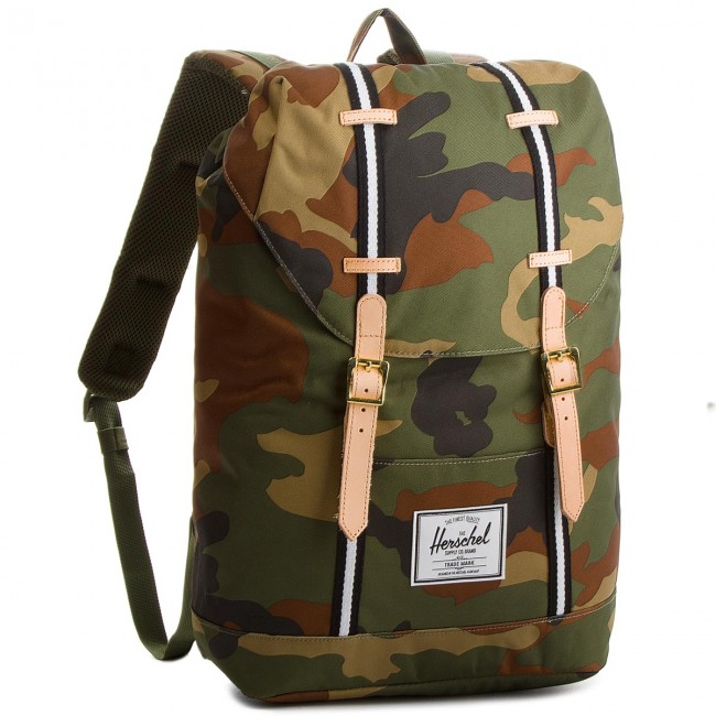 52c2e339cfaea Plecak HERSCHEL - Retreat 10066-01832 Woodland Camo/Black/White ...