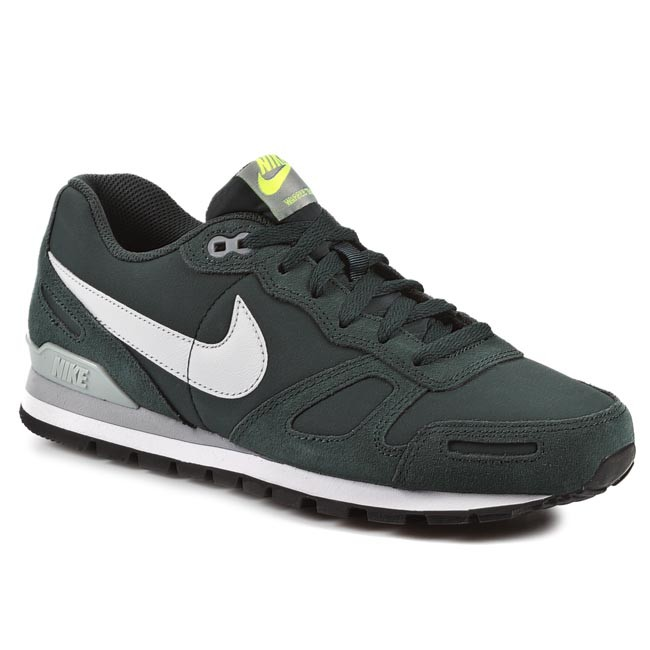 promo code 8a1d4 06737 Buty NIKE - Air Waffle Trainer Leather 454395 300 Seaweed Pure Platinum  Silver