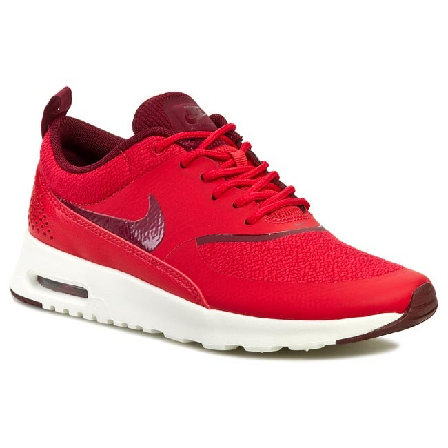 862582bd Buty NIKE - Air Max Thea 599409 603 Action Red/Team Red/Sail - Sneakersy -  Półbuty - Damskie - eobuwie.pl