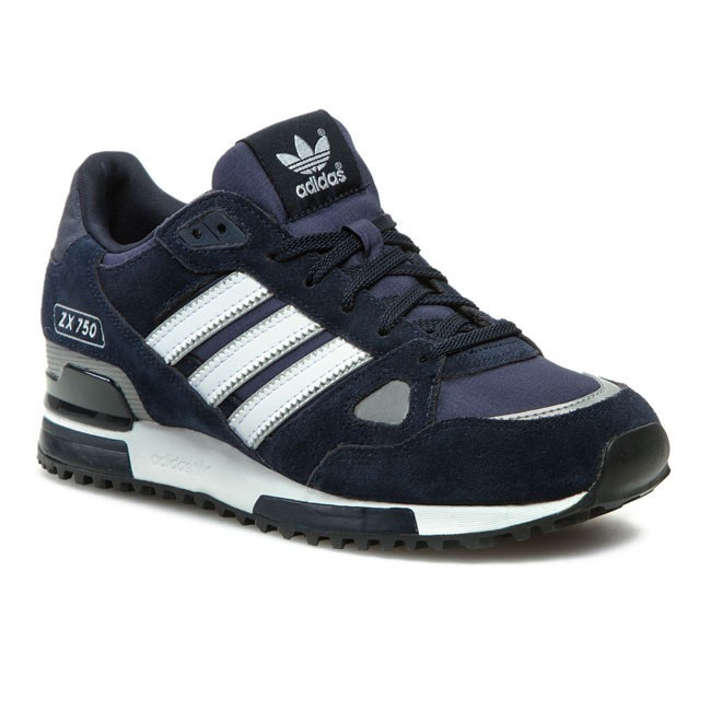 new arrivals e9bd4 56fd1 Buty adidas - ZX 750 G40159 New Navy White Dark Navy