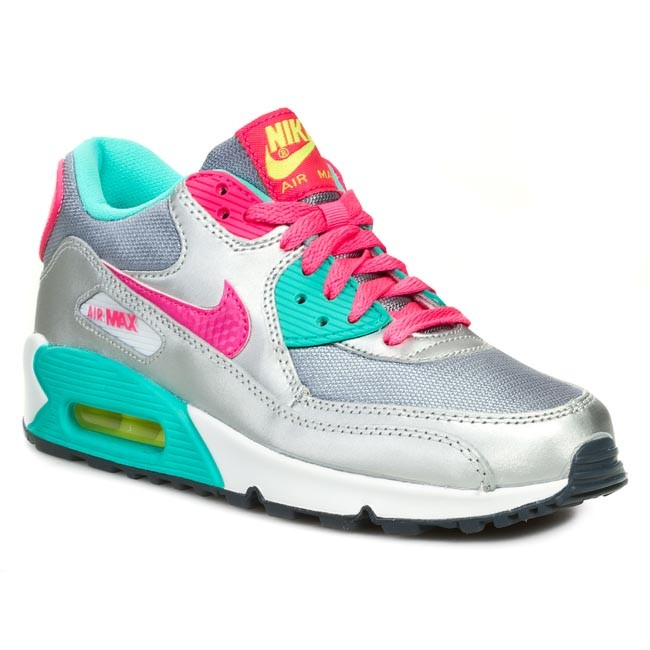 release date a9c26 3bb78 ... Buty NIKE - Air Max 90 2007 345017 065 Mgnt Grey Hyper Pink Volt ...