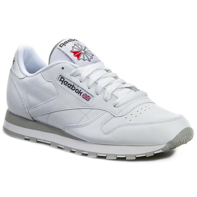 35ff1a1614cb7 Buty Reebok - Cl Lthr 2214 White Light Grey - Sneakersy - Półbuty ...