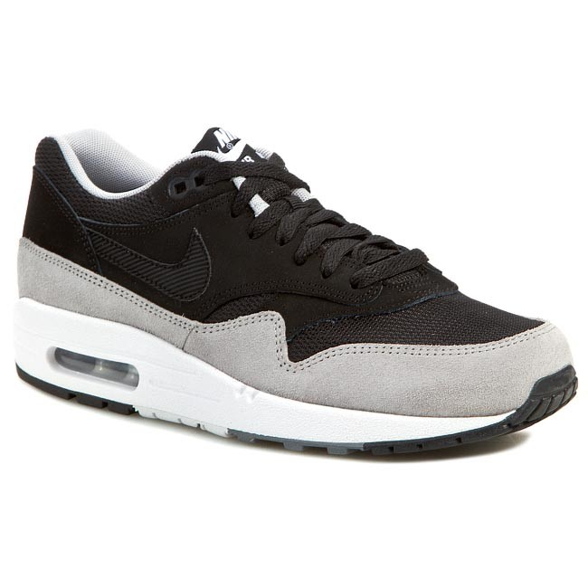 detailed look 29a58 e7f97 Buty NIKE - Air Max 1 Essential 537383 021 Black Flt Silver