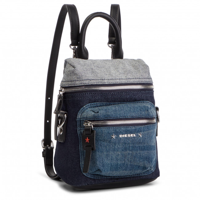 b543665b05705 Plecak DIESEL - F-Destar Backpack X06067 Blue Denim - Plecaki ...