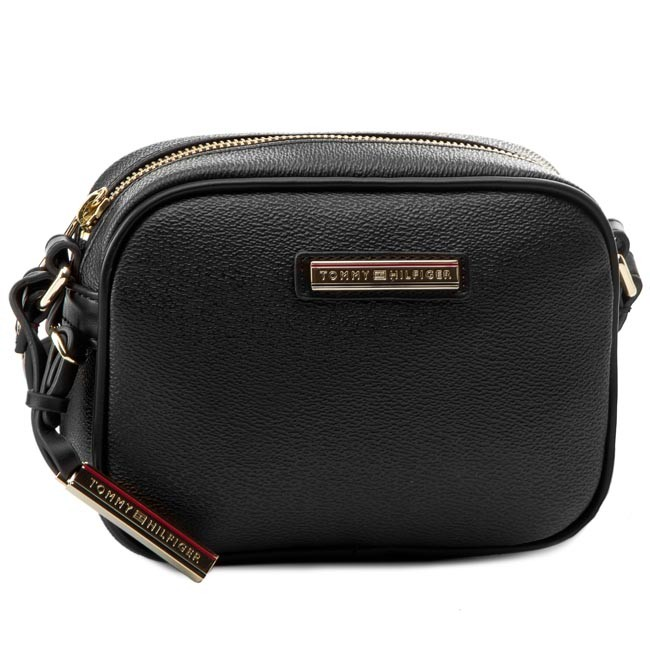 7d93c8d488972 Torebka TOMMY HILFIGER - Irene Mini Crossover AW0AW00930 Black 002 ...