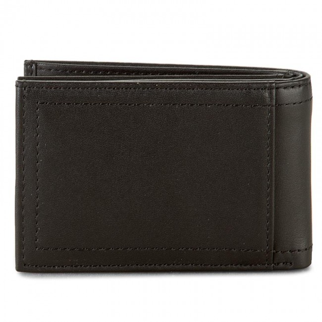42e71a9ad7d45 Mały Portfel Męski TOMMY HILFIGER - Harry Mini Cc Flap And Coin Pocket  AM0AM01257 Black 002
