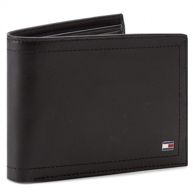 9af173e2e129b Duży Portfel Męski TOMMY HILFIGER - Harry CC Flap And Coin Pocket  AM0AM01259 002