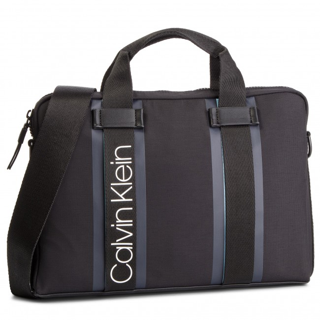 b4c693fd9772c Torba na laptopa CALVIN KLEIN - Clash Laptop Bag K50K504228 001 ...