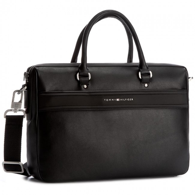 a1c57d1559550 Torba na laptopa TOMMY HILFIGER - City Business Computer Bag Novelty  AM0AM02095 002