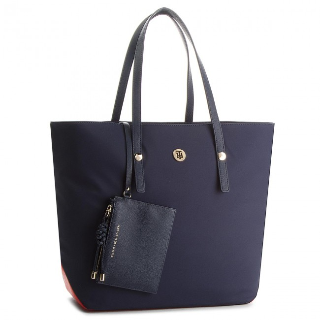 e82ea590d5d06 Torebka TOMMY HILFIGER - Tommy City Tote Nylo AW0AW05451 901 ...