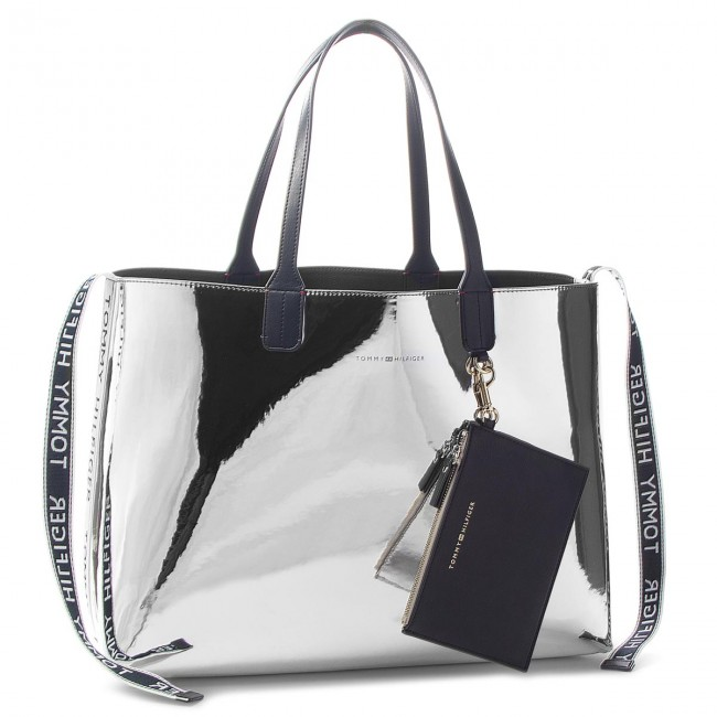 904c989960654 Torebka TOMMY HILFIGER - Iconic Tommy Tote Mt AW0AW05830 907 ...