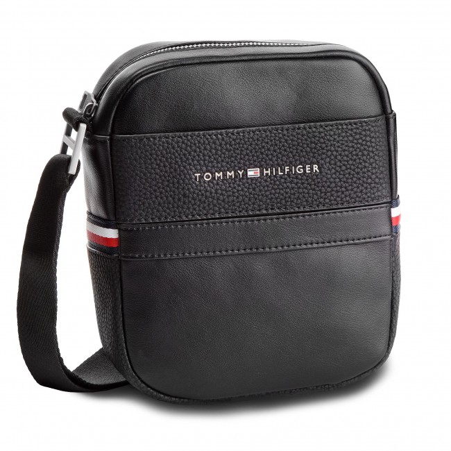 250651ee1e1a4 Saszetka TOMMY HILFIGER - Th Business Mini Reporter AM0AM04258 002 ...