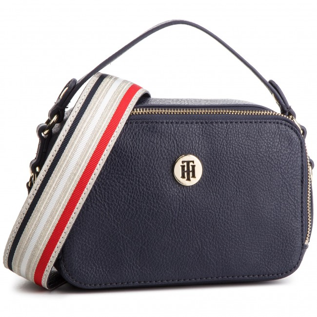 7db5f77a0287d Torebka TOMMY HILFIGER - Cool Tommy Mini Trunk AW0AW06543 413 ...