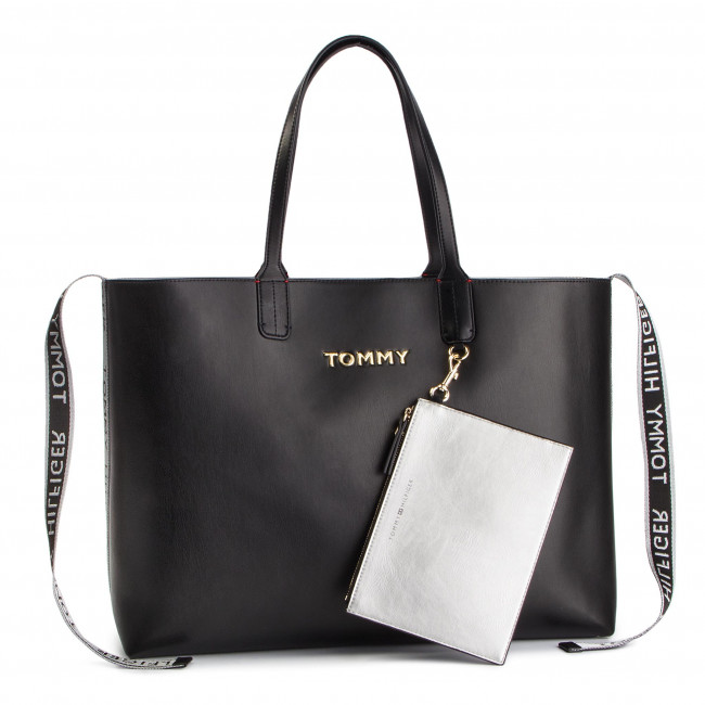 1051d2996d4 Torebka TOMMY HILFIGER - Iconic Tommy Tote AW0AW06446 002 ...