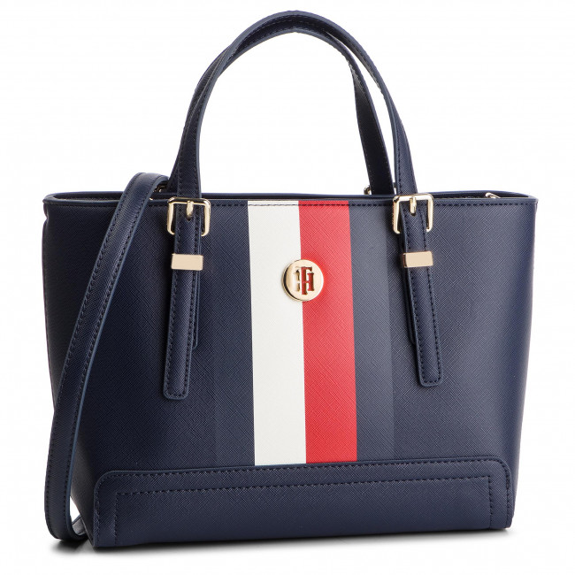 555dc14199ee9 Torebka TOMMY HILFIGER - Honey Small Tote Corp AW0AW06866 901 ...