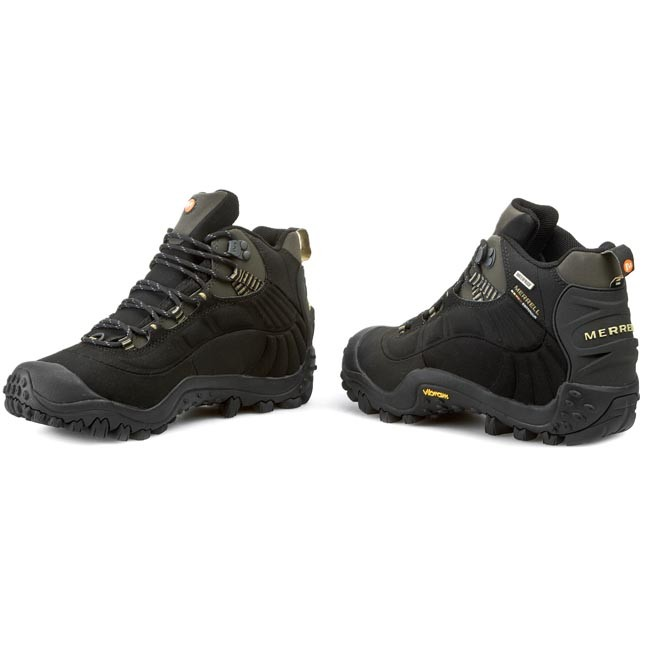 8a7be9ee93bc2 Trekkingi MERRELL - Chameleon Thermo 6 Wp Syn J87695 Black/Charcoal ...