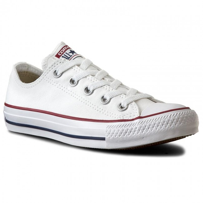 4d0ae92eeb7d Trampki CONVERSE - All Star Ox M7652C Optical White - Płaskie ...
