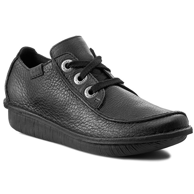 Półbuty CLARKS - Funny Dream 203066394 Black Leather