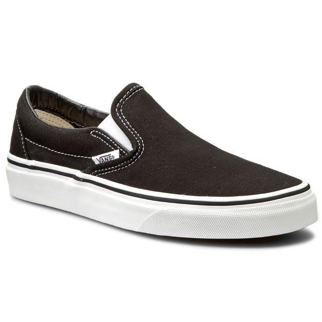 Tenisówki VANS - Classic Slip-On VN-0EYEBLK Black