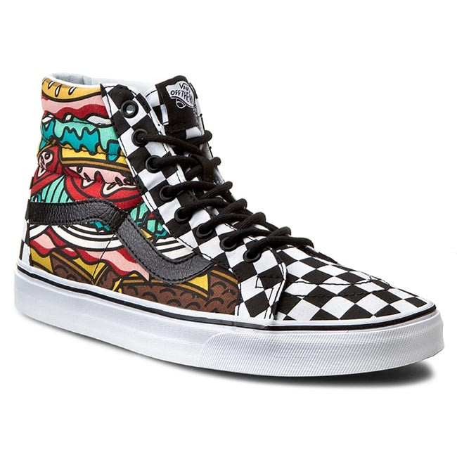 Sneakersy VANS Sk8 Hi VN0003CAIRV Late Night BurgerCheck