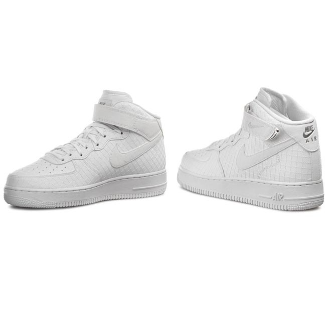 Buty NIKE Air Force 1 Mid '07 LV8 804609 100 WhiteWhite