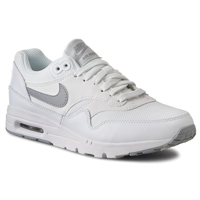 Buty NIKE W Air Max 90 Ultra Essentials 704993 102 WhiteWlf GreyPf PltnmMtllc S