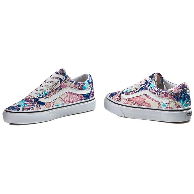 Tenisówki VANS Old Skool VN0003Z6IKP (Tropical) Multi True Wht