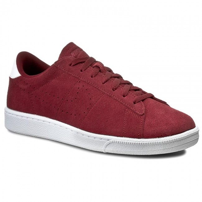 Buty NIKE - Tennis Classic Cs Suede 829351 601 Team Red/Team Red-White